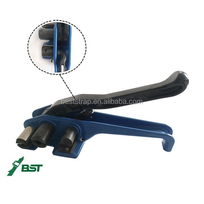BST Strapping Machine Manual Strap Tensioner Cord Strap Cutting Shrink Machine