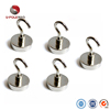 Factory Direct Sale Dia 25mm 200N Strong Neodymium Magnet Hook