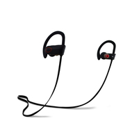 Crystal Clear Sounds Waterproof Headset Microphone Wireless Earphones for Running--RU9