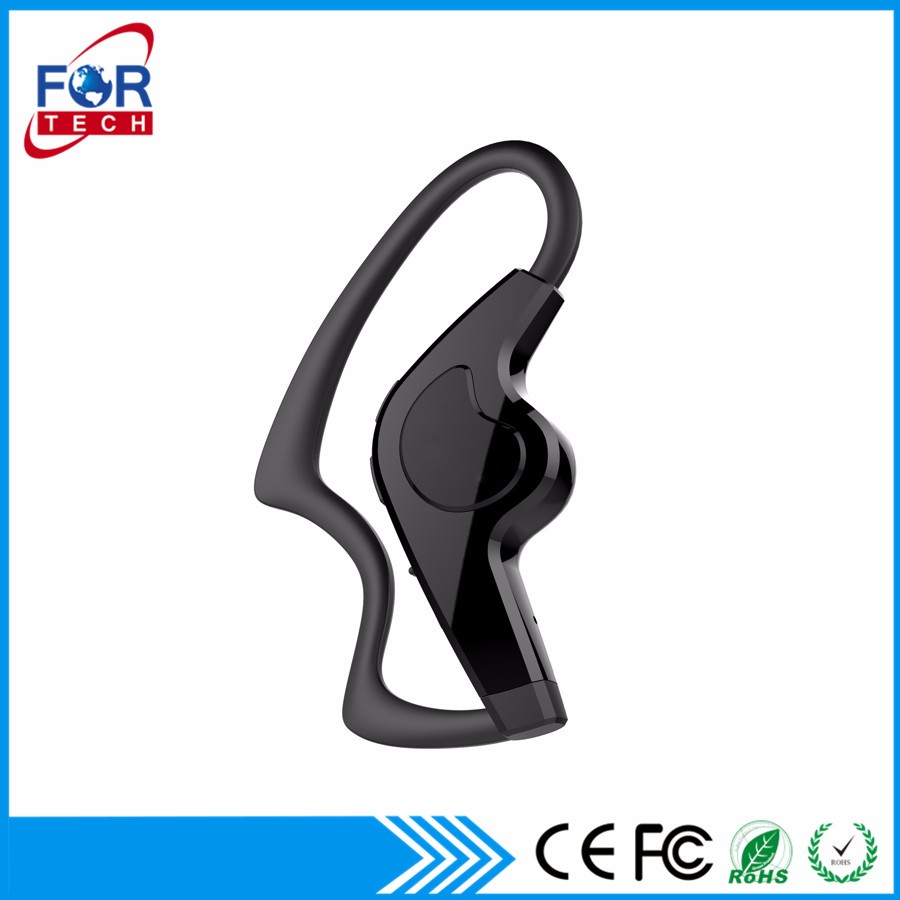 Bluetooth Headset Fortech Wireless 4.1 Hands Free Noise Reduction Echo Headset with Mic