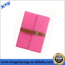 Luxury Belt Buckle PU Leather Cover Bag For iPad 2 3 4