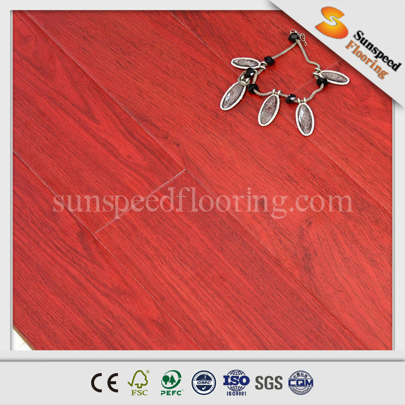 guyana wood laminated flooring for 8mm and 12mm