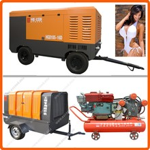 8bar 1Mpa 12-20bar screw portable diesel air compressors
