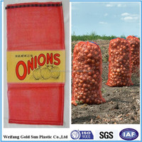 45x75, 50x80, 25x39 raschel mesh bags for vegetables