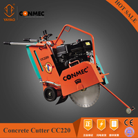 CONMEC Floor Saw Machine Gasoline Concrete Cutter with Honda Engine
