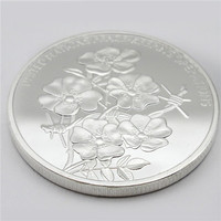 customize coins art shiny silver alloy metal commemorative coin China factory good quality best selling coins