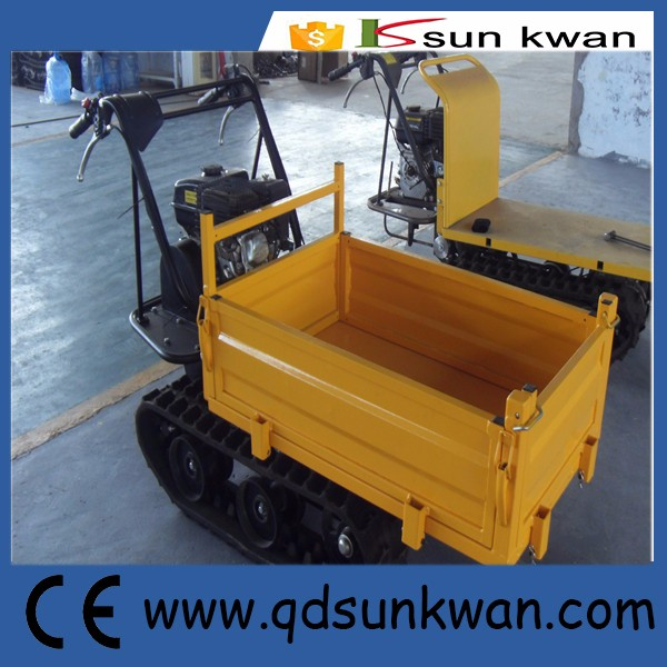 300kgs yellow skid steer muck truck
