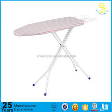 Various Popular selling industrial Stainless Steel adjustable iron board/mini folding ironing board/cover