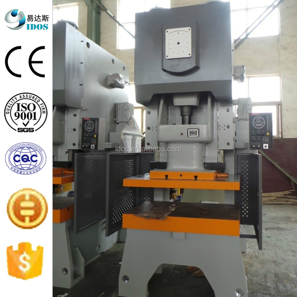 JH21 series number punching machine, machanical punch press with hydraulic overload protector