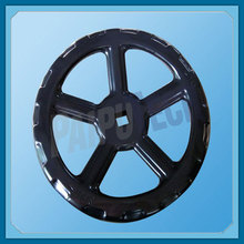 High quality cheap price can customize cast iron hand valve wheel black
