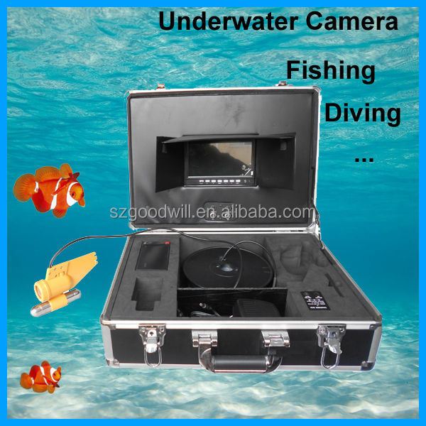600 TVL CCD Underwater Camera CCTV Kit for Fishing