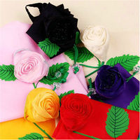 2013 fashion flower folding shopping bag