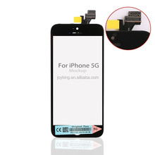 [JK] Quality LCD Display Pantalla with Touch Screen Digitizer Frame Assembly for iPhone 5 No Dead Pixel Replacement