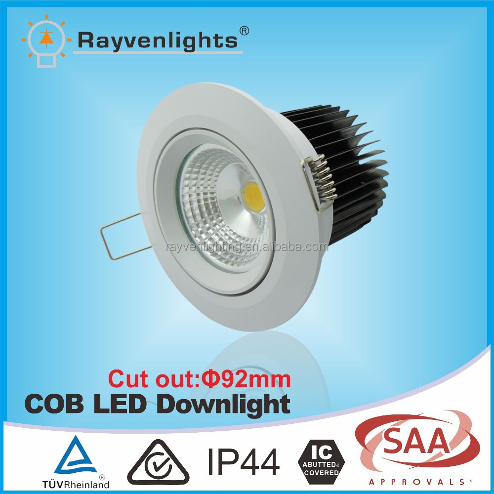 TUV Approval American Chip 10W 850lm LED <strong>Downlight</strong> 2700k