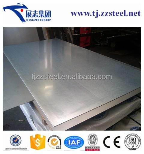 Manufacture ASTM A653 CS Type B Galvanized Steel Sheet Zero Spangle