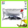 High quality good plastic wine bag in box with double taps