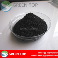 Coal granular activated carbon adsorbent for gas filter