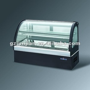hot products Countertop Glass Display Cabinet Cooler, Tabletop Refrigerated Showcase
