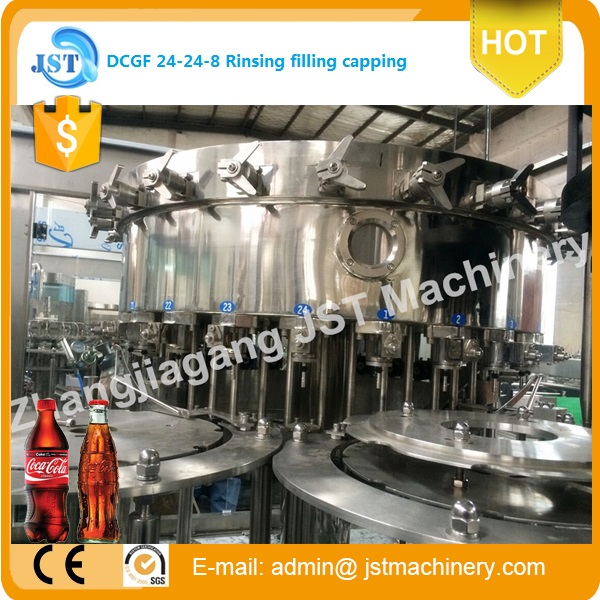 For Chile Alibaba gold supplier carbonated beverage/soft drink bottling machine/progress/plant/line