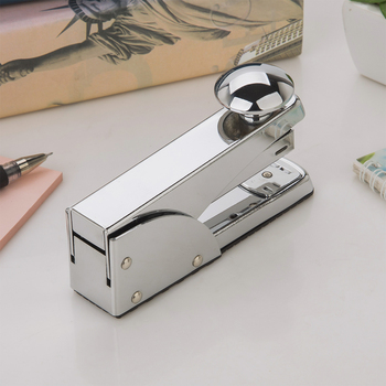 Chrome multifunctional sheet metal stapler mini types of long logo