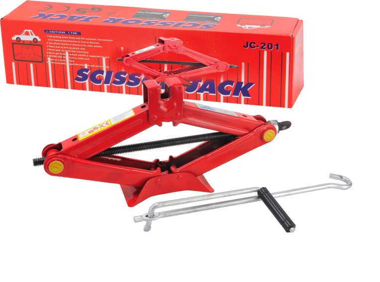 High Quality 1 Ton Auto Car Small Lifting Scissor Jack
