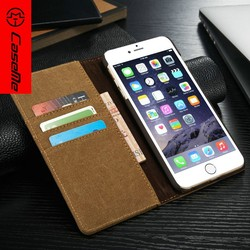 2016 New Book Leather Case for iPhone6 plus, for IPhone 6 plus Cover Wholesale, Stand Credit Cards Case for iPhone6