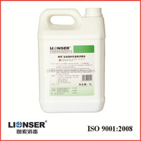 LIONSER Disinfectant for Body Fluids Processing Equipments