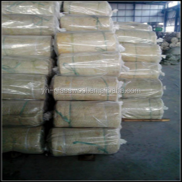 Rock Wool Blanket With Wire Mesh For Power Plant And
