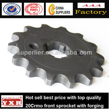 China manufacturer motorcycle spare parts motorcycle chain kits for CBX250 TWISTER /TITAN/CG-125/NXR125BROS