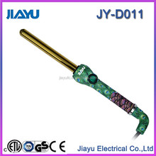 hair curler of aluminum barrel and rubber belt head