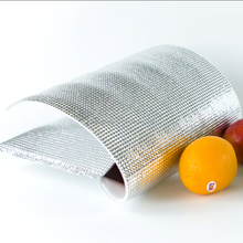 shanghai manufacture aluminum foil bag for chocolate insulated delivery