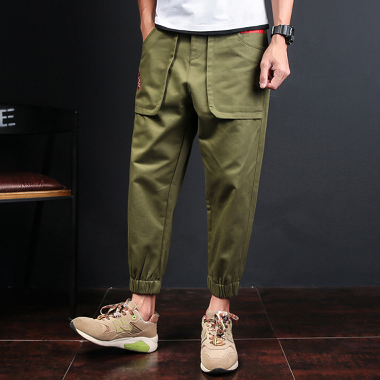 Men's Slim Fit Casual Narrow Pants Fashion Straight Dress Pants Skinny Smooth Trousers 2017 New Arrival