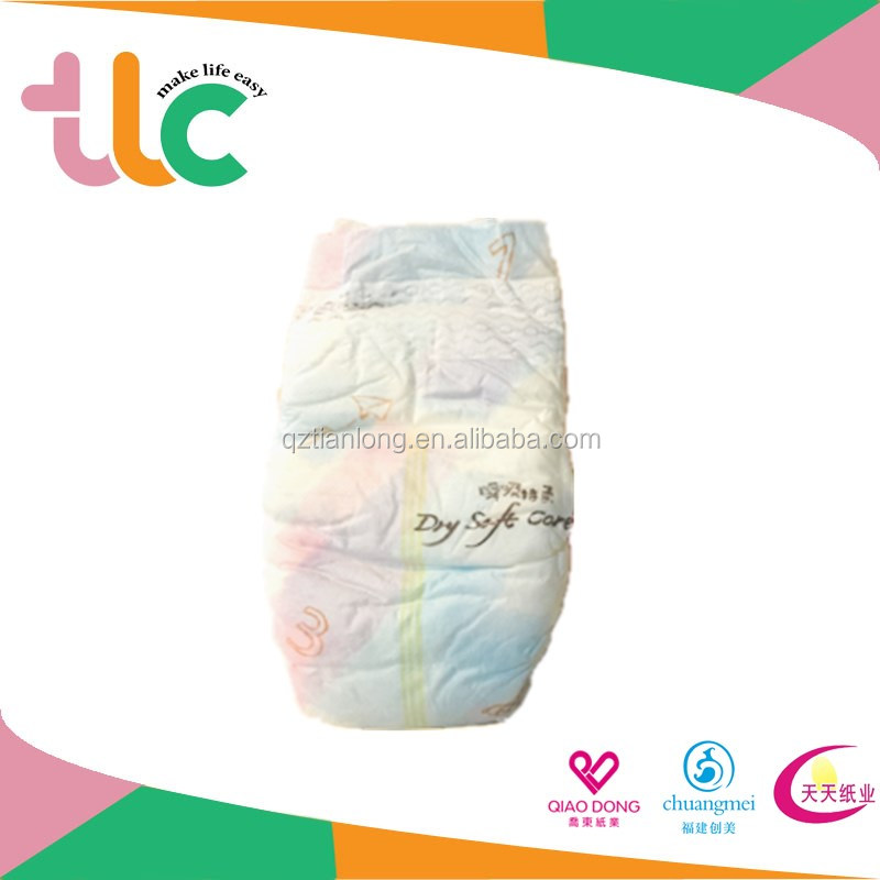 Disposable Diaper Baby Wholesale/sleepy Baby Diaper Manufacturer in China
