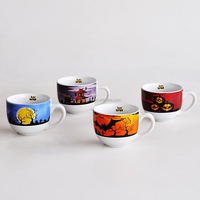 promotional items of ceramic mug with halloween design