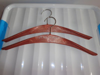 high quality and low price wood-like plastic clothes rack