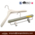 Assessed Supplier LINDON Custom Wooden Hangers with Label Printed