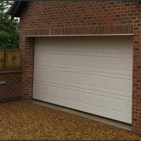 folding single panel automatic garage door