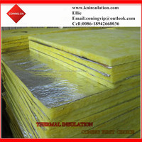 Glass wool plate with Aluminum foil on one side