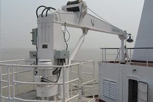 OCEAN ENGINEERING SHIP CRANE