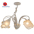 High quality country style glass shade E14 ceiling light