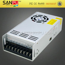 SANPU hot selling open frame 24vdc constant voltage led power supply with CE ROHS and 2 years warranty
