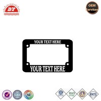 wholesale plastic custom motorcycle license plate frame