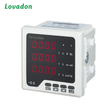 China Supplier Three Phase Energy Meter Digital Current Volt Frequency Meter