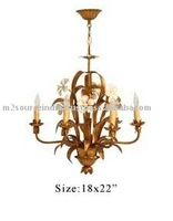 iron wedding chandelier, wrough iron chandelier, round iron chandelier