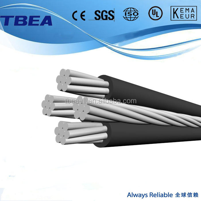 0.6/1kV XLPE/PE Insulated Aerial Bundled Cable