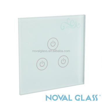 High quality fancy light glass switch