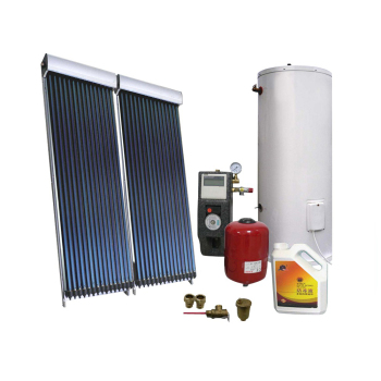 split evacuated tube solar hot water heating system