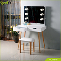 Goodlife makeup vanity table with led light wholesale from China factory