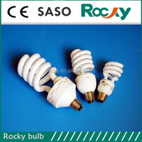 5w~300w half spiral energy saving lamps B22, E27, E14 with cheap price