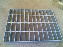 galvanized serrated steel grating panel,steel lattice, steel grille, steel fence, steel grate, bar grating